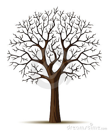 Free Vector Silhouette Tree Crone Stock Photo - 4751880