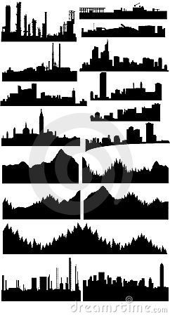 Vector skylines collection