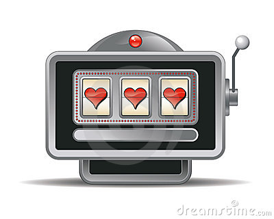 slot machines vector
