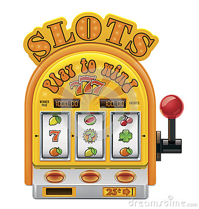 Free Vector Slot Machine Icon Royalty Free Stock Photos - 27642418