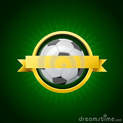 Vector Soccer Emblem Royalty Free Stock Photography - Image: 28713387