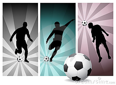 Vector Soccer Players #2