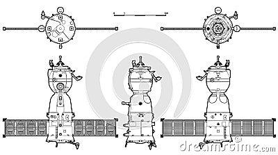 Vector spaceship