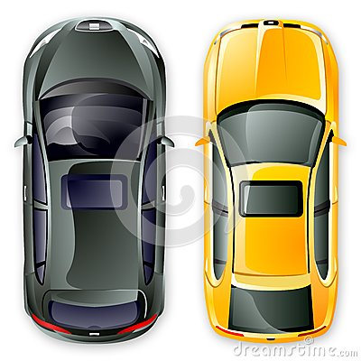 Free Vector Spanish Cars. Royalty Free Stock Images - 9990539