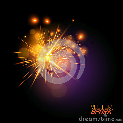 Free Vector Spark Effect Stock Images - 27761304