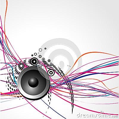 Free Vector Speaker Art Stock Images - 12684004