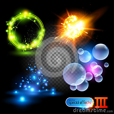 Free Vector Special Effects Series 3 Stock Image - 24318011