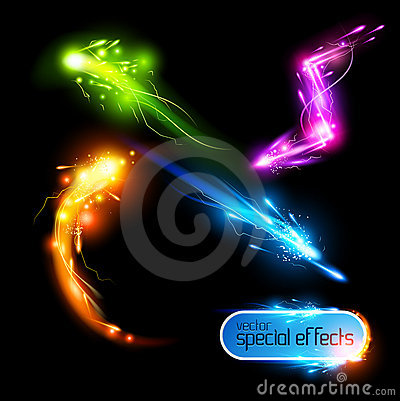 Vector Special Effects Set