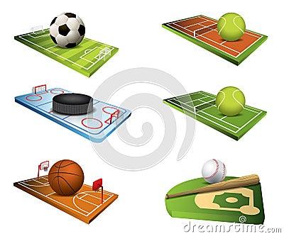 Vector sport fields