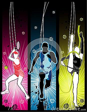 Free Vector Sport Illustration Royalty Free Stock Image - 5932246