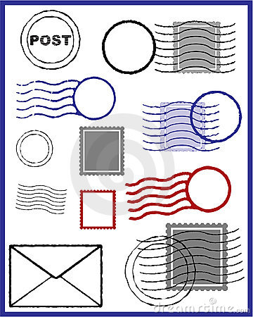 Free Vector Stamp Royalty Free Stock Image - 7278746