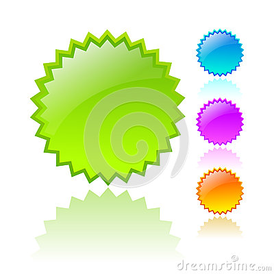 Free Vector Star Icons Royalty Free Stock Photos - 29548598
