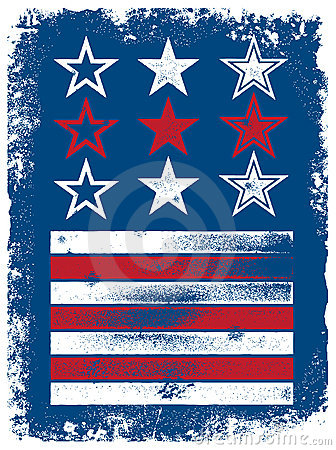 Vector Stars & Stripes Elements