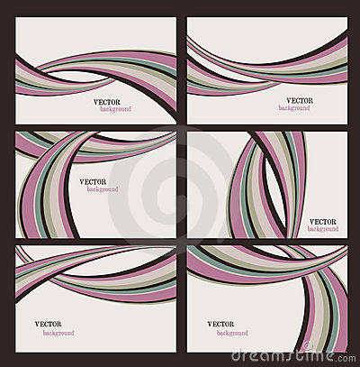 Vector Stripes Backgrounds