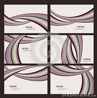 Vector Stripes Backgrounds