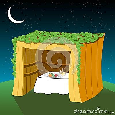 Free Vector Sukkot Hut Stock Image - 15868791