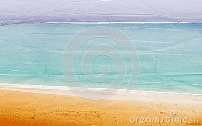 Vector Summertime At The Beach Royalty Free Stock Image - Image: 14017226