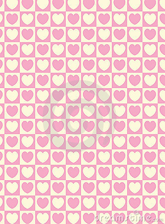 Free Vector Swatch Heart Striped Squares Fabric Background Stock Image - 12799261