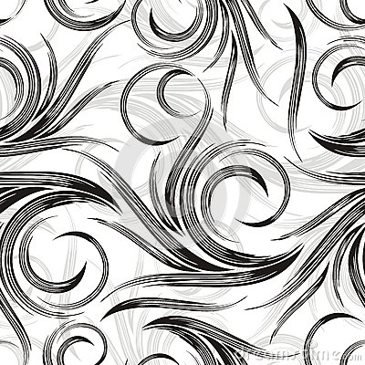 Vector swirly background