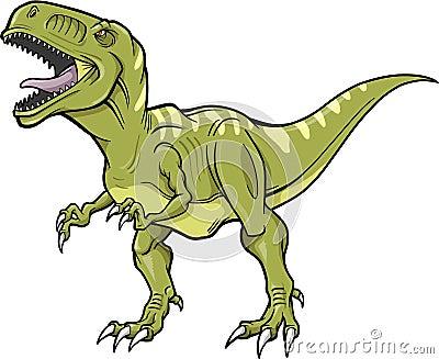 Vector T-Rex Dinosaur