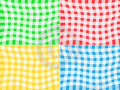 Vector Tablecloth Patterns