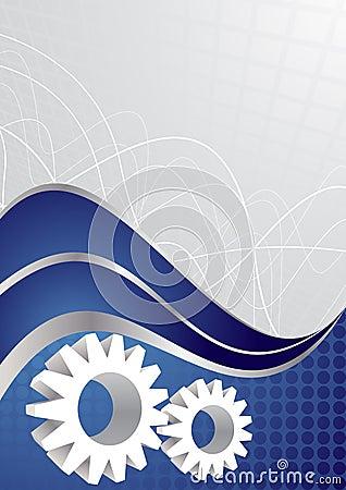 Vector tech background