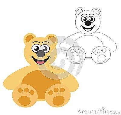 Vector ~ Teddy bear toy