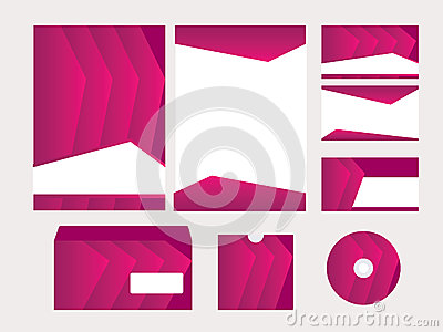 Vector template for business design