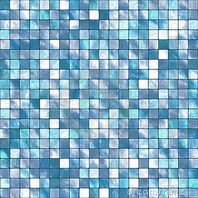 Vector Tile Mosaic Background
