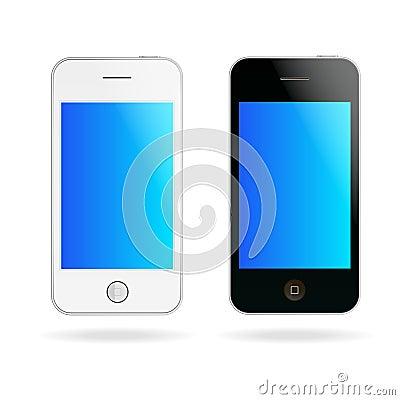 Vector touch phones