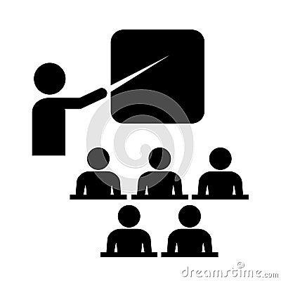 Vector training icon
