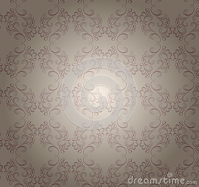 Vector transparent pattern  on beige.