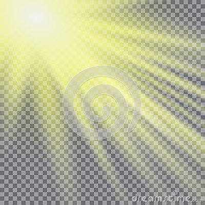 Free Vector Transparent Sunlight Special Lens Flare Light Effect. Sun Flash With Rays And Spotlight Stock Photography - 81399792