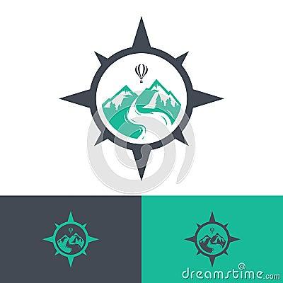 Free Vector Travel Logos Royalty Free Stock Image - 96339106