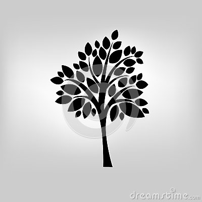 Vector tree illustration Vector Illustration