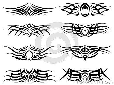fotos de tatuajes goticos. tatuajes tribales goticos. Fotos de archivo libres de regalías: Vector tribal del paquete del; Fotos de archivo libres de regalías: Vector tribal del