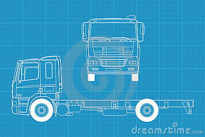 Vector Truck Royalty Free Stock Photography - Image: 23630587
