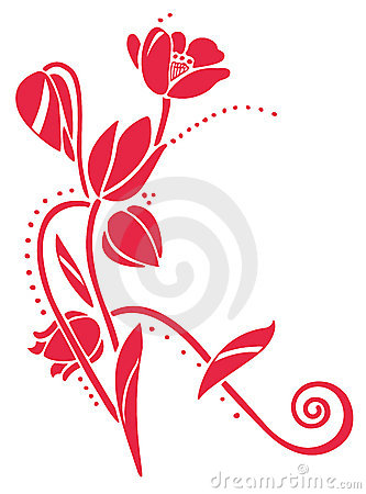 Vector Tulips Royalty Free Stock Photo - Image: 9179615