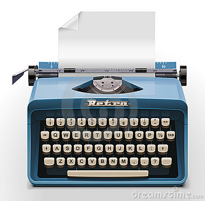Free Vector Typewriter XXL Icon Stock Images - 19485904