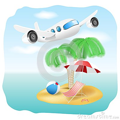 Vector Vacation Illustration