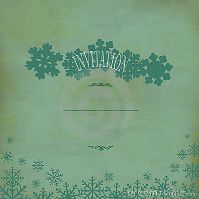 Vector vintage festive background