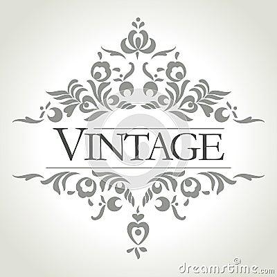 Free Vector Vintage Frame Stock Images - 26717864
