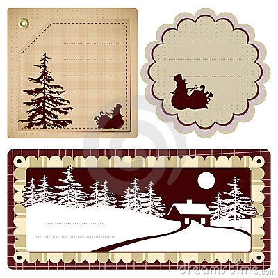 Vector vintage Style background Christmas