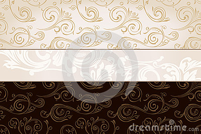 Vector vintage wallpaper. Gift wrap background