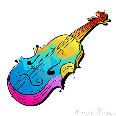 Vector Violin Design