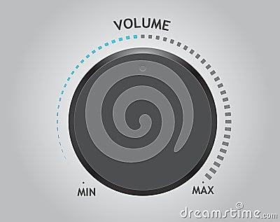 Vector volume dial