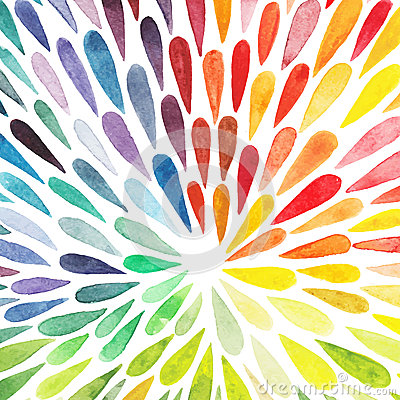 Free Vector Watercolor Colorful Abstract Background. Collection Of Pa Royalty Free Stock Images - 49598729