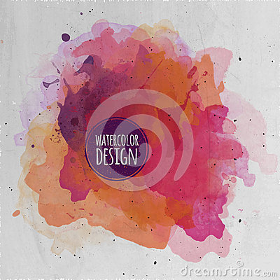 Free Vector Watercolor Paint Abstract Background Royalty Free Stock Photos - 40044498