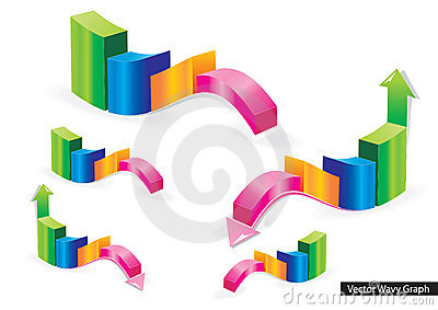 Vector Wavy Graph