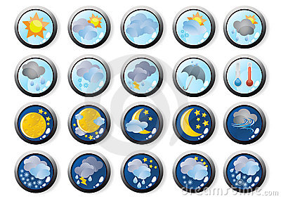 Vector-the-weather-web-icons
